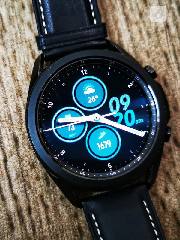 Samsung Galaxy Watch3. Liputan6.com/Mochamad Wahyu Hidayat