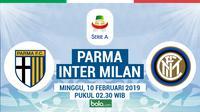 Jadwal Serie A 2018-2019 pekan ke-23, Parma vs Inter Milan. (Bola.com/Dody Iryawan)