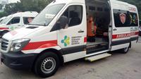 Kementerian Kesehatan menyediakan 25 unit ambulans seharga Rp 2 miliar untuk Asian Games 2018. (dok. Kemenkes)