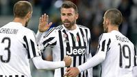 Juventus tidak bisa menurunkan trio BBC pada laga kontra Palermo (17/2/2017).