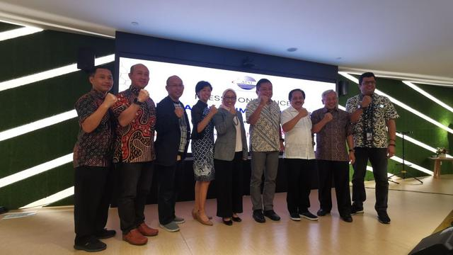 Perwakilan anggota Asosiasi Penyelenggara Telekomunikasi Seluruh Indonesia (ATSI)