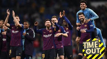 Berita video Time Out tentang beberapa klub yang selalu lolos ke babak perempat final Liga Champions dalam lima musim terakhir.