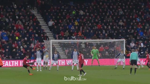 Junior Stanislas mencetak gol melalui free kick yang sulit dihalau kiper lawannya. This video is presented by Ballball.