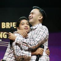 Ruben Onsu dan Betrand Peto (Bambang E Ros/Fimela.com)