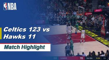 Berita Video Highlights NBA 2019-2020, Boston Celtics Vs Atlanta Hawks 123-115