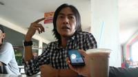 Rudihanto salah seorang artis Pantura Cirebon merasa terpanggil untuk maju dalam Pemilu Legislatif. Foto (Liputan6.com / Panji Prayitno)