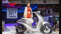Yamaha Glorious, motor konsep Yamaha yang diperkenalkan di Vietnam Motor Show 2017.