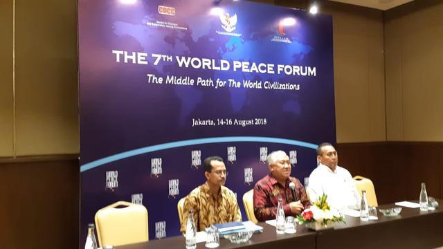Tokoh Lintas Sektor dari 40 Negara Akan Hadiri Forum Perdamaian Dunia di Indonesia