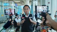 Kepala Daerah Kerja (Daker) Bandara Jeddah-Madinah, Arsyad Hidayat. Darmawan/MCH