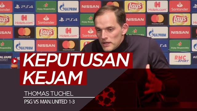 Berita video komentar Pelatih PSG, Thomas Tuchel, soal penalti yang diberikan wasit kepada Manchester United pada laga leg kedua 16 besar Liga Champions 2018-2019, Rabu (6/3/2019).