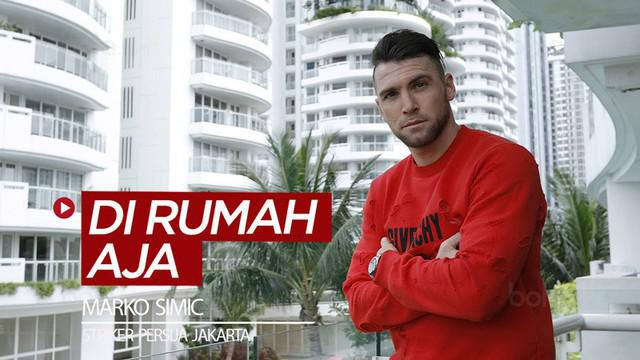 Berita video saran dari striker Persija Jakarta, Marko Simic, kepada khususnya para pecinta sepak bola untuk di rumah aja sesuai dengan arahan pemerintah dalam menghadapi pandemi Virus Corona.
