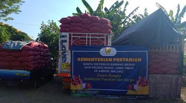 Stabilkan Pasokan, Kementan Subsidi Distribusi Bawang Merah ke Maluku dan Daging Ayam ke Kaltara