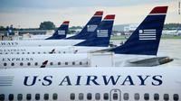 Pesawat US Airways. (CNN)