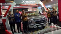Mitsubishi Xpander tiba di Riau. (M. Syukur/Liputan6.com)