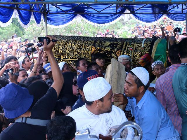 Kisah Di Balik Pemakaman Olga Syahputra News Liputan6 Com