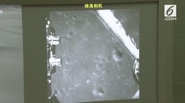 Satelit milik China berhasil menangkap untuk pertama kalinya sisi terjauh dari bulan.