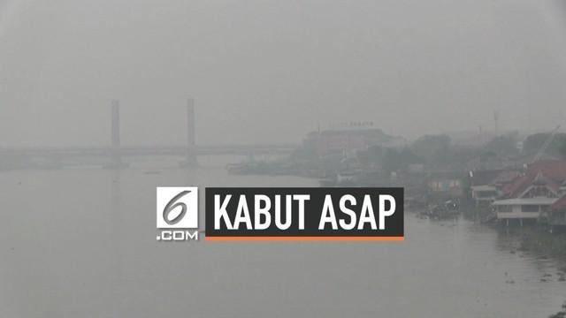 Palembang kembali dikepung asap usai meningkatnya jumlah titik api di wilayah Sumatera Selatan. Titik api banyak ditemukan di wilayah Kabupaten Ogan Komering Ilir.