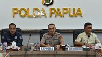 Aparat kepolisian masih terus melakukan penjagaan di sejumlah wilayah Papua. (Foto: Istimewa)
