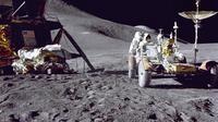 Misi penjelajahan Apollo 15 di Bulan. (www.nasa.gov)
