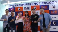 Konferensi Pers EXGCon di Jakarta, Selasa 5 November 2019/Stella Maris.