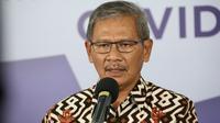 Juru Bicara Pemerintah untuk Penanganan COVID-19 di Indonesia, Achmad Yurianto saat konferensi pers Corona di Graha BNPB, Jakarta, Rabu (27/5/2020). (Dok Badan Nasional Penanggulangan Bencana/BNPB)