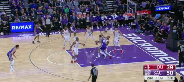 Berita video game recap NBA 2017-2018 antara Sacramento Kings melawan Houston Rockets dengan skor 96-83.