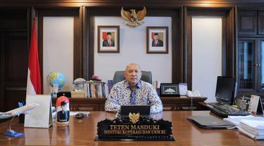 Menteri Koperasi dan UKM Teten Masduki menetapkan 7 target Kementerian Koperasi dan UKM di tahun 2024.