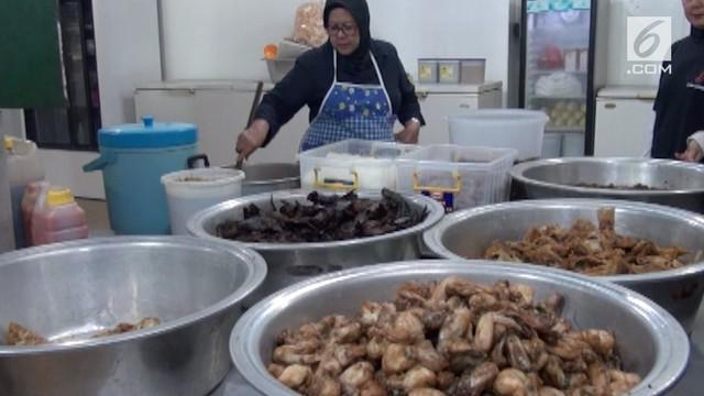 Menu makanan pesta adat Kahiyang-Bobby akan banyak yang berasal dari daerah Mandailing dan Tapanuli Selatan