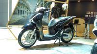 Tampal samping Honda SH150i (Foto: Rio/Liputan6).
