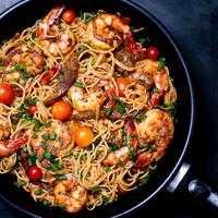 ilustrasi spaghetti/Photo by Olayinka Babalola on Unsplash