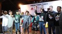 Konfrensi pers Prambanan Jazz Festival 2016 (Switzy Sabandar/Liputan6.com)