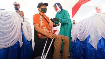 Puskesmas di Banyuwangi Ditargetkan Vaksinasi 250 Orang Per Hari