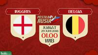 Piala Dunia 2018 Inggris Vs Belgia (Bola.com/Adreanus Titus)