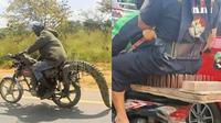 6 Bentuk Jok Motor Ini Tak Biasa, Nyeleneh Banget (sumber: Instagram.com/sukijan.id)
