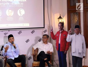 TGB dan Budiman Sudjatmiko Diskusikan Hoax, Golput dan Masa Depan Bangsa