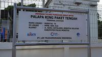 Menteri Komunikasi dan Informatika Rudiantara memaparkan tentang internet positif kepada para siswa sekolah di Daruba, Kab Pulau Morotai di Taman Kota Morotai (Liputan6.com/ Agustin Setyo W)