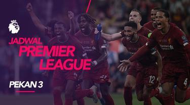 Berita video jadwal Premier League 2019-2020 pekan ke-3, Liverpool hadapi Arsenal, Sabtu (24/8/2019) di Anfield, Liverpool.