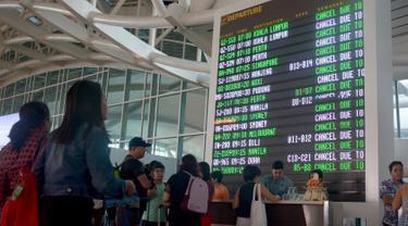 Bandara Ngurah Rai Ditutup