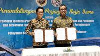 Kemenhub dan KKP bekerjasama dalam pemberian pelayanan status hukum kapal penangkap ikan dan kepelautan.