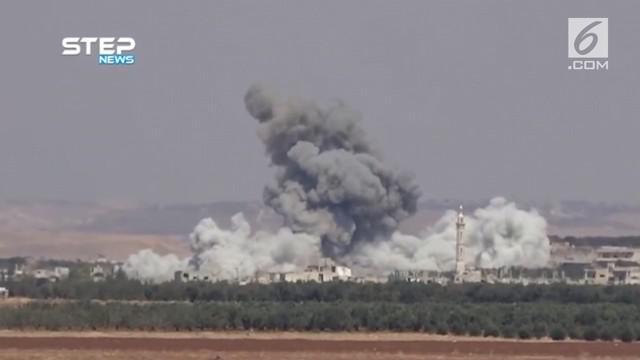Serang bom yang terjadi di kota Hama, Suriah menewaskan seorang bayi dan melukai beberapa warga lainnya.