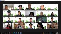 "FPCI Press Conferences and Closing of ""Muda Berusara 2021: Selamatkan Generasi Emas 2045"" (Hasil tangkap layar/Cindy Damara)"