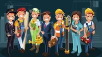 Banner Infografis Pekerja Usia Bawah 45 Tahun Boleh Kembali Beraktivitas. (Liputan6.com/Trieyasni)