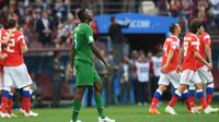 Pelatih Timnas Arab Saudi, Juan Antonio Pizzi, menyayangkan kekalahan 0-5 dari Rusia pada laga pembuka Piala Dunia 2018. (AFP/Francisco Long)