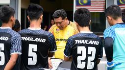 Timnas Thailand U-22 mengoleksi sepuluh gol pada fase grup di SEA Games 2017. (Bola.com/FA Thailand)