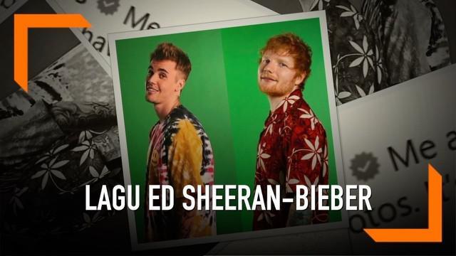 Akhirnya Ed Sheeran dan Justin Bieber merilis single kolaborasi mereka yang berjudul I Don't Care. Lagu tentang percintaan ini merupakan kolaborasi kedua antara Sheeran dan Bieber.