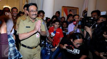Djarot Resmi Jabat Plt Gubernur DKI Jakarta