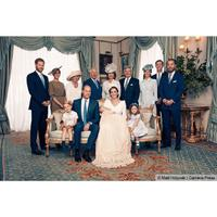 Potret keluarga kerajaan Inggris usai pembaptisan Pangeran Louis. (Instagam/kensingtonroyal)