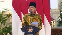 Presiden Republik Indonesia Joko Widodo (Jokowi) secara resmi meluncurkan logo baru dari Masyarakat Ekonomi Syariah (MES) yang dipimpin Menteri BUMN Erick Thohir.