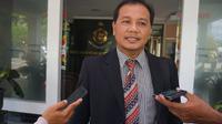 Tim Kuasa Hukum Ganjar-Yasin, Heri Joko Setyo, melaporkan dugaan fitnah ke Polda Jawa Tengah (Tim Media Ganjar-Yasin)