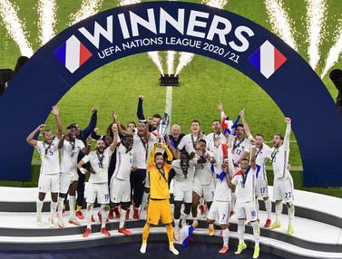Foto: Come Back Manis Prancis, Antarkan Les Bleus Jadi Juara UEFA National League 2021
